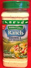 Hidden Valley Ranch Seasoning and Dressing Mix - (1) 16 oz Container - Sealed