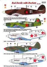 AML Models Decals 1/48 RED DEVILS with ROCKETS Part III