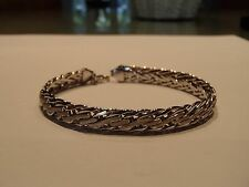 """Beautiful white gold 14k 7"""" bracelet, 7.65 grams, worn once, excellent condition"""