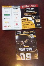 CFL Schedule Hamilton Tiger- Cats pocket schedule 2009