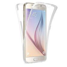 Pour Samsung Galaxy S6 Edge Coque Gel 360 avant + Arrière Protection INTEGRAL