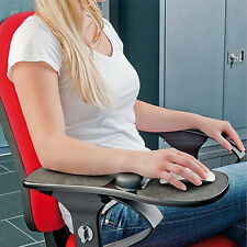 NEW Home Office Computer Arm Rest Chair Armrest Mouse Pad Wrist Support Long Mat