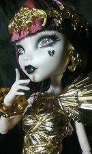 OOAK Monster High 13 Wishes Draculaura Collector Doll Repaint by artist J.S.A.L.