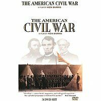 The American Civil War  - Ken Burns (DVD, 2009, 3-Disc Set) - NEW SEALED