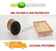 DIESEL SERVICE KIT OIL AIR FILTER FOR FORD TRANSIT 330 2.4 101 BHP 2006-