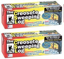 2 ea Creosote Sweeping Log  # SL 824-12 Chimney Pipe Cleaner