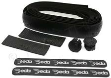 Deda Elementi Logo Road Bicycle Handlebar Drop Bar Tape - Carbon Look - Black
