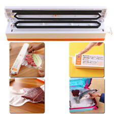 Vacuum Sealing System Machine Electric Fresh Food Packaging Sealer Portable 220V