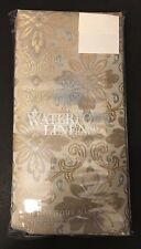Waterford Linens Set Of 4 Napkins. Christina. Silver/gold