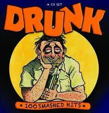 Drunk: 100 Smashed Hits [Box] by Various Artists (CD, Sep-2012, 4 Discs, Proper)