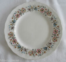 PARAGON MEADOWVALE  Salad Dessert Plate pink blue floral gold rims