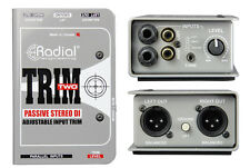 RADIAL Trim-Two Stereo DI w/ Level Control Trim Two Trim2 Trim-2 - IN ORIG BOX!
