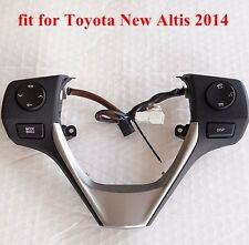 1PC GENUINE TOYOTA COROLLA ALL NEW ALTIS 2014 SWITCH MODE FOR STEERING WHEEEL