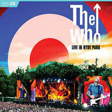 The Who: Live in Hyde Park (DVD, 2 CD/Blu-ray)