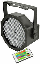 QTX LED DMXFlat Par46 RGBW Uplighter Party Stage Lighting Disco DJ Light Remote