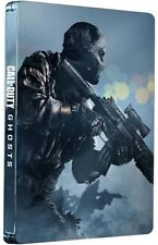 Call Of Duty Ghosts Game & Free Fall DLC Steelbook Edition Xbox 360 ~ NEW ~ uns