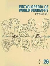 Encyclopedia of World Biography: 2006 Supplement (Encyclopedia of World Biograph