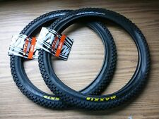 """One Pair of Maxxis Holy Roller 20"""" x 1.95"""" Bicycle Tires BMX Bike Tire New"""