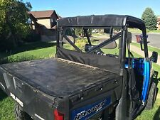 POLARIS RANGER XP 900 REAR WINDOW AND DUST/WIND BARRIER