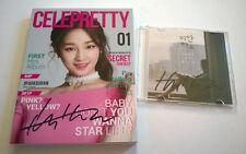 Park Boram Celepretty & Sorry Albums Set Signed Autographed Mwave
