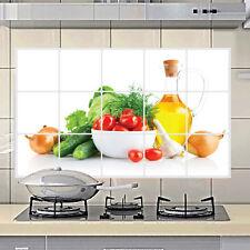 Cuisine Sticker Autocollant Muraux Mural Mur Anti-huile Oil Proof Décoration DIY