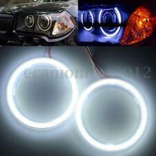 Coppia 70mm 60SMD COB LED Angel Eyes Halo Rings Lampade Luci Faro per Auto