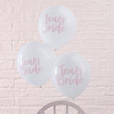 10 x team bride/bride to be hen party ballons poule nuit accessoires vintage