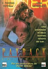 AFFICHE PROMO VIDEO CLUB--PAYBACK LA DETTE--HOWELL/SEVERANCE