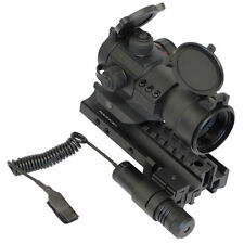 Tactical Kit w/ Red Dot Sight +  Green Laser + Trirail + Fits Marlin Camp 9 45
