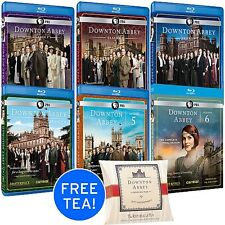 Downton Abbey TV Series ~ Complete Season 1-6 + BONUS ~ BRAND NEW BLU-RAY SET