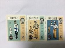 Brunei Stamps Complete Set BR 32. Mint Hinged