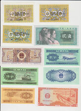 (WP-109) 1990 CHINA &CCCP MIX of 10 BANK NOTES (C)