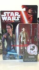 Star Wars 3.75 Inch Rey (Resistance Outfit) Action Figure *Also Avail: Han Solo*