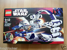 Lego Star Wars 7661 - Jedi Starfighter mit Hyperdrive Booster Ring -  NEU/OVP -