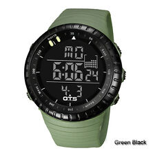 OTS LED Digital Climbing Outdoor Sports Waterproof Wrist Watch Men Fashion Gifts