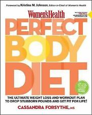 Women's Health Perfect Body Diet: The Ultimate Weight Loss and Workout-ExLibrary