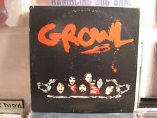Growl-Growl LP-AFFINITY LABEL PROG/PSYCHEDELIC ROCK-US VINYL-RARE!!!!!!!!!!!!!!!