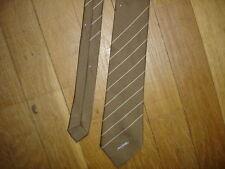 FIBRE Cravate de luxe  largeur maxi 7 cm longueur 135 cm made in France