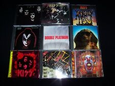 CD Kiss 10 Metal lot CDs Discs Alive Destroyer Hot Shade Solo Circus MINT CASES