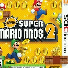 New Super Mario Bros. 2 Full Game  Download Card/Key  for Nintendo US 3DS Only