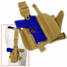 """Coyote Tan Tactical Large Frame Semi Auto 5"""" Pistol Gun Holster FREE SHIPPING"""