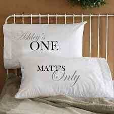 Personalized One and Only Love Couple Pillowcases Cool His & Her Valentines Gift