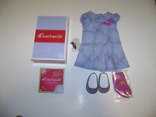 NIB AUTHENTIC AMERICAN GIRL SWEET SCHOOL DRESS OUTFIT for DOLLS RETIRED CHARM