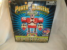 POWER RANGERS ZEO Deluxe Red Battlezord