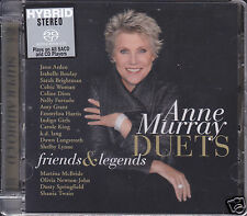 """""""Anne Murray Duets Friends & Legends"""" Japan Limited Numbered Hybrid SACD CD New"""