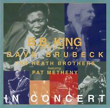 B.B. KING, PAT METHENY, THE DAVE BRUBECK QUARTET : IN CONCERT / CD - NEUWERTIG