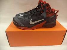 NEW MENS NIKE ZOOM HYPERFUSE BLACK RED SILVER BASKETBALL SHOES 615896 001SZ 12