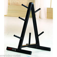 Gym Weight Plate Black Solid Barbell Bar Storage Rack Gym Fitness Weights Home