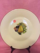 "Lenox Collector Plate SPECIAL Fruits Collection ~ 10.5"" diam. ~ MADE in USA"