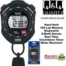 AUSSIE SELLER CITIZEN MADE 150-LAP MEMORY PRO HAND HELD STOP WATCH MF01J001